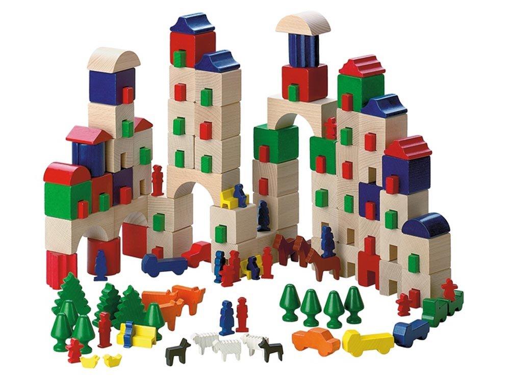 Haba 1160 - Juego de construcción Amsterdam (pequeño)