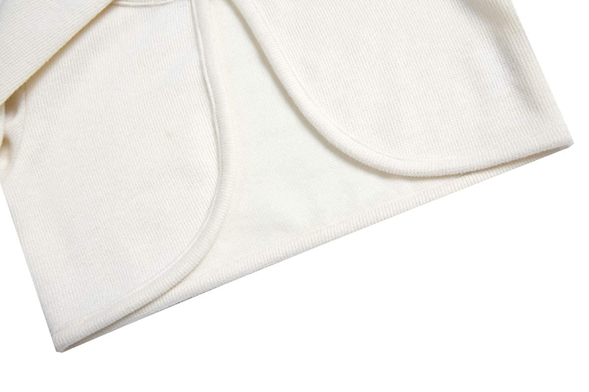 BONNY BILLY Girls Cardigan Long Sleeve Knitted Cotton Bolero Shrug Kids Clothing