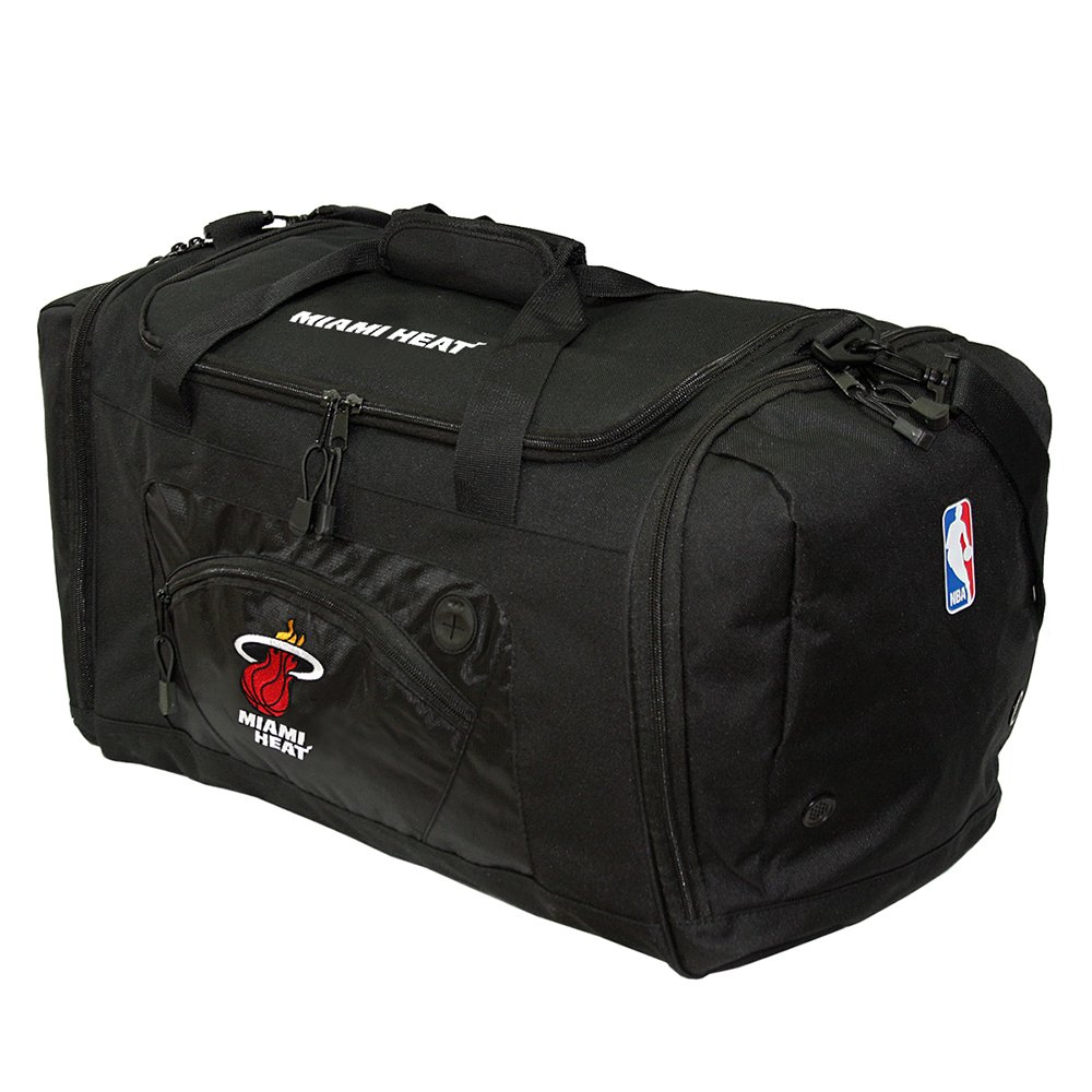 The Northwest Company Officially Licensed NBA Miami Heat Roadblock Duffel Bag
