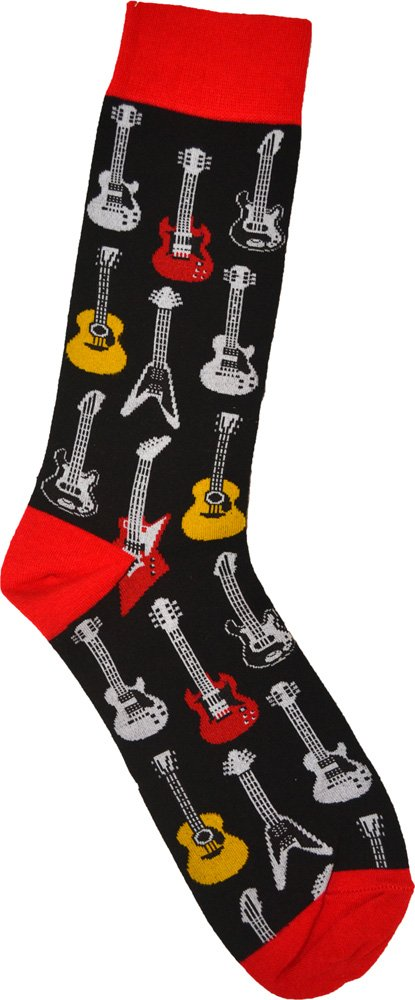 special section classcic elegant appearance Guitar Socks (Men's)
