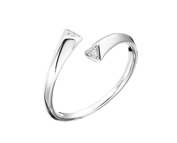592a38664 White gold diamond ring by Majade. Diamond wedding band, Diamond engagement  ring for women