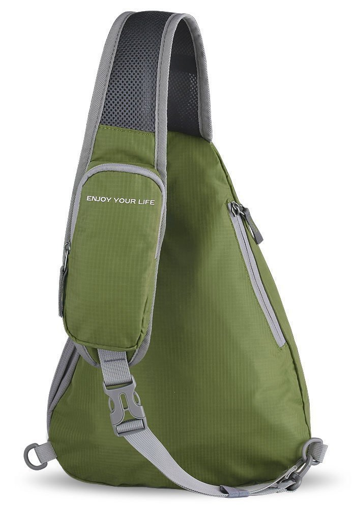 Waterfly Sac Triangle Poitrine Homme Femme Sacoche Bandouliere Sling Bag Pliable pour Randonn/ée Cyclisme Camping