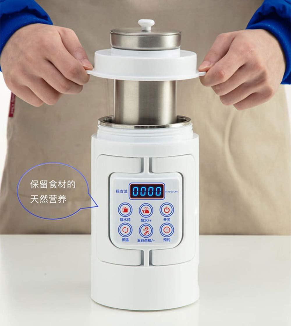 Aokoy Eléctrica Hot Pot, Rápido Fideos Cocina, Acero Inoxidable Mini vasija Sopa, gachas de Avena, harina de Avena con Control de Temperatura y Mantener Caliente, 0.7L, 220V: Amazon.es