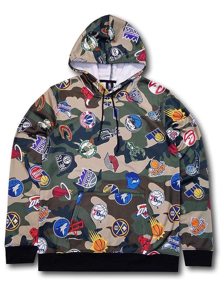 (UNK)アンク NBA Team Logos Hoodie チームロゴ パーカー [並行輸入品] B07QCMYMQ1 カモフラージュ M
