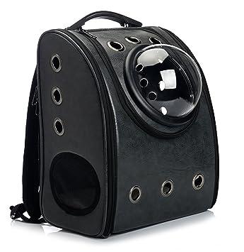 43d0182bb2c Vedem Pet Carrier Bag Cat Dog Traveler Bubble Backpack (Black): Amazon.ca:  Pet Supplies