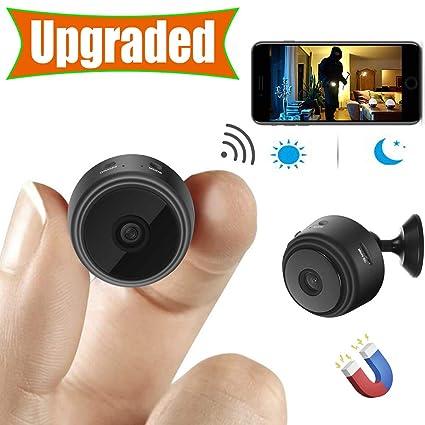 1b9951f5364  Upgraded  Spy Camera Wireless Hidden Cameras Mini WiFi Cam HD 1080P Small  Nanny Cams