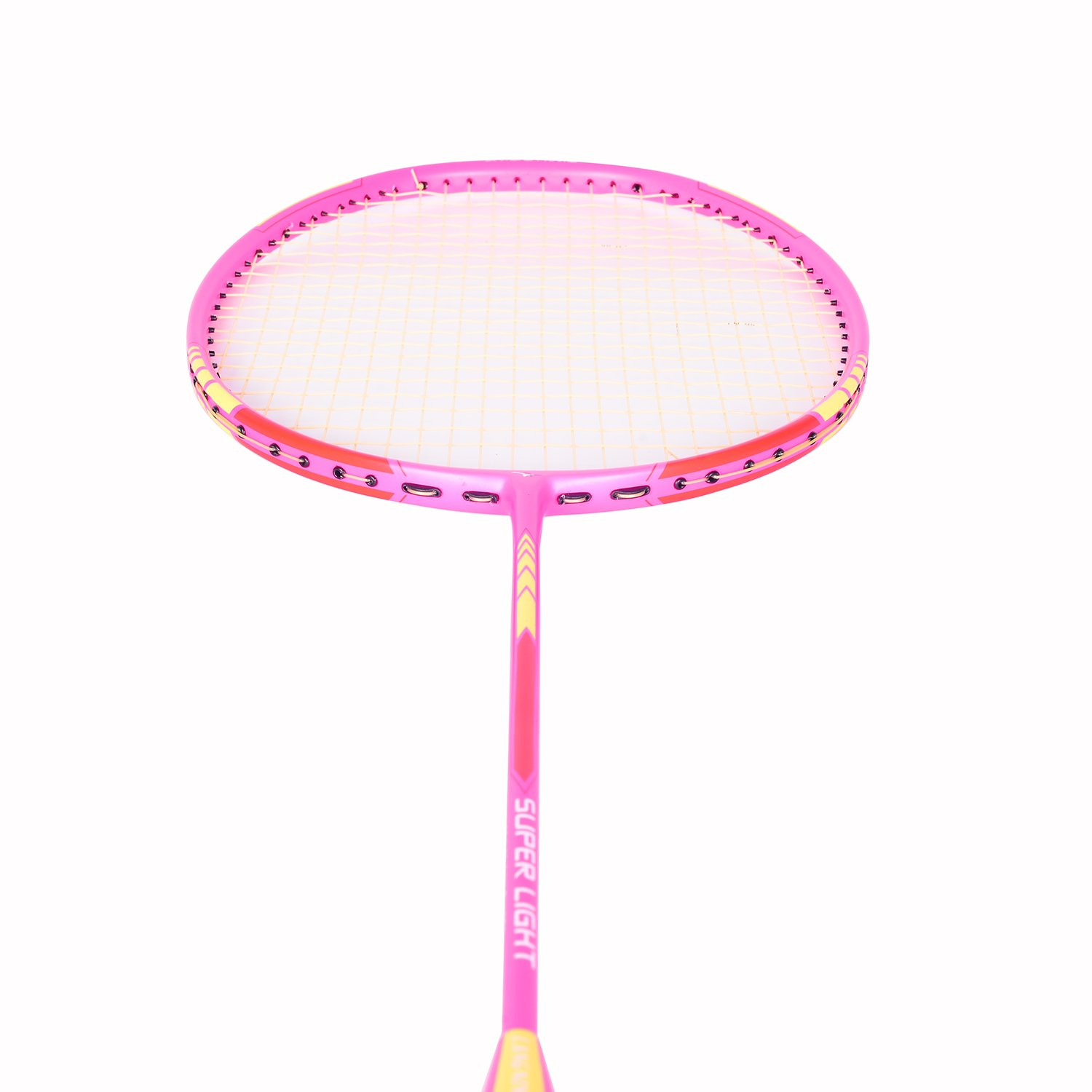 ab2cd32dc Amazon.com   Badminton Racket Light Racquet Set from Langning Carbon Fiber  6U(72g) Professional Tournament Single Shuttle Bat Carrying Bag Included    Sports ...
