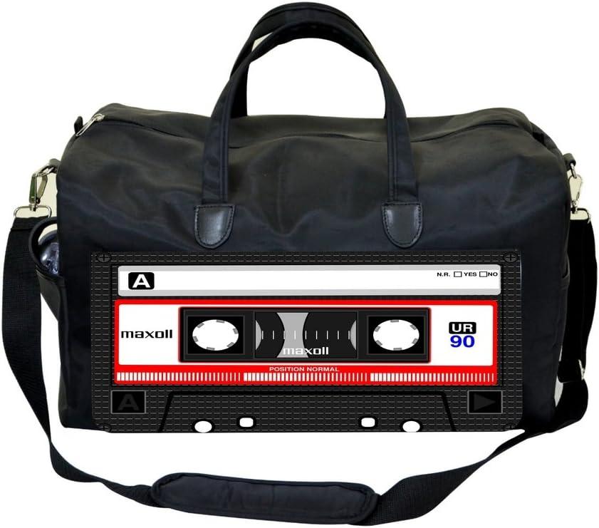 Cassette Print Design Sports Bag