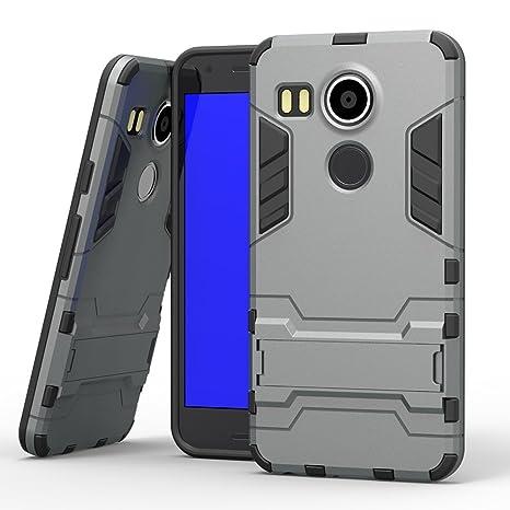COOVY® Funda para LG Nexus 5X de plástico y Silicona TPU ...