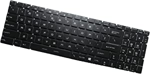 Genuine MSI GS70 2QD GS70 2QF GS70 2QE Keyboard GS70 ONC US + Clear Protector Cover