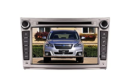 7 Inch Touch Screen Car GPS Navigation for Subaru OUTBACK / LEGACY Stereo DVD Player Video