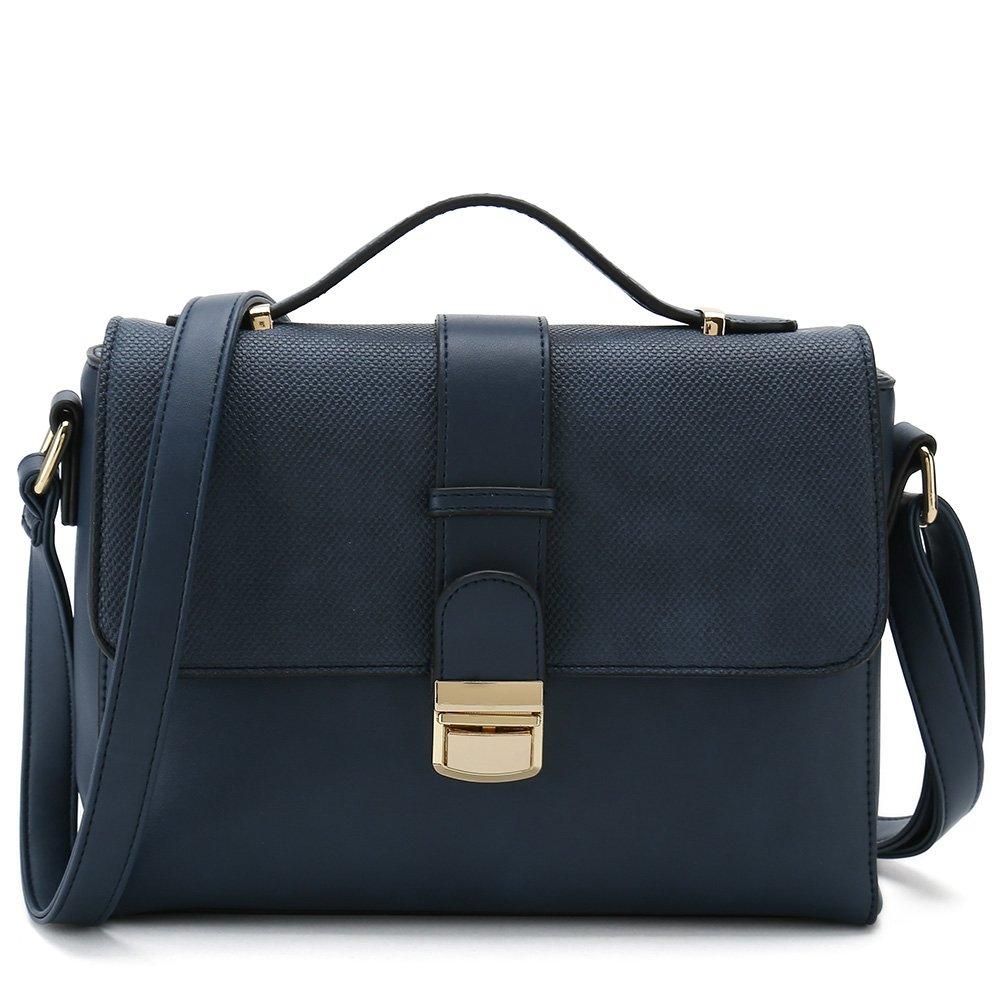 Women's Cross Body Handbags for Ladies Designer Purses Stylish Shoulder Bags (Blue)