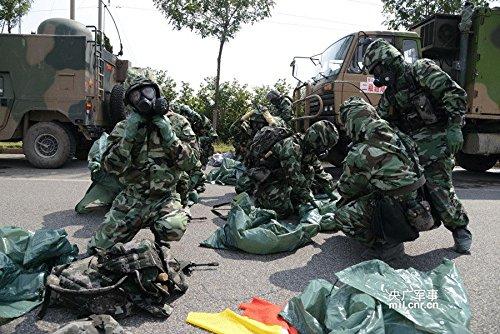 igasmask chino Militar máscara de gas fmj05: Amazon.es: Deportes y aire libre
