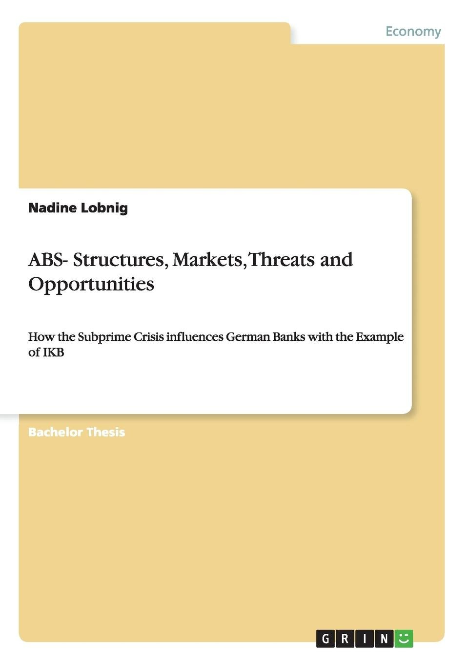 Read Online ABS- Structures, Markets, Threats and Opportunities pdf epub