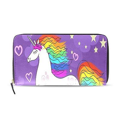 Dibujado a mano Hermoso Arco Iris Unicornio Largo Pasaporte ...