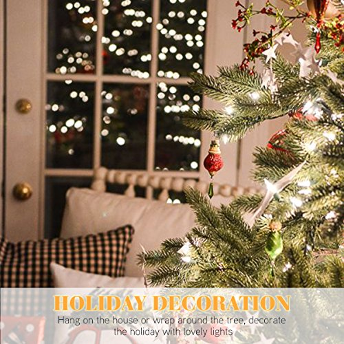 H Christmas Lights Count Clear Mini String Lights Set Indoor - Indoor christmas lights for bedroom