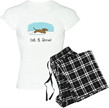CafePress Colorful Dachshunds Womens PJs