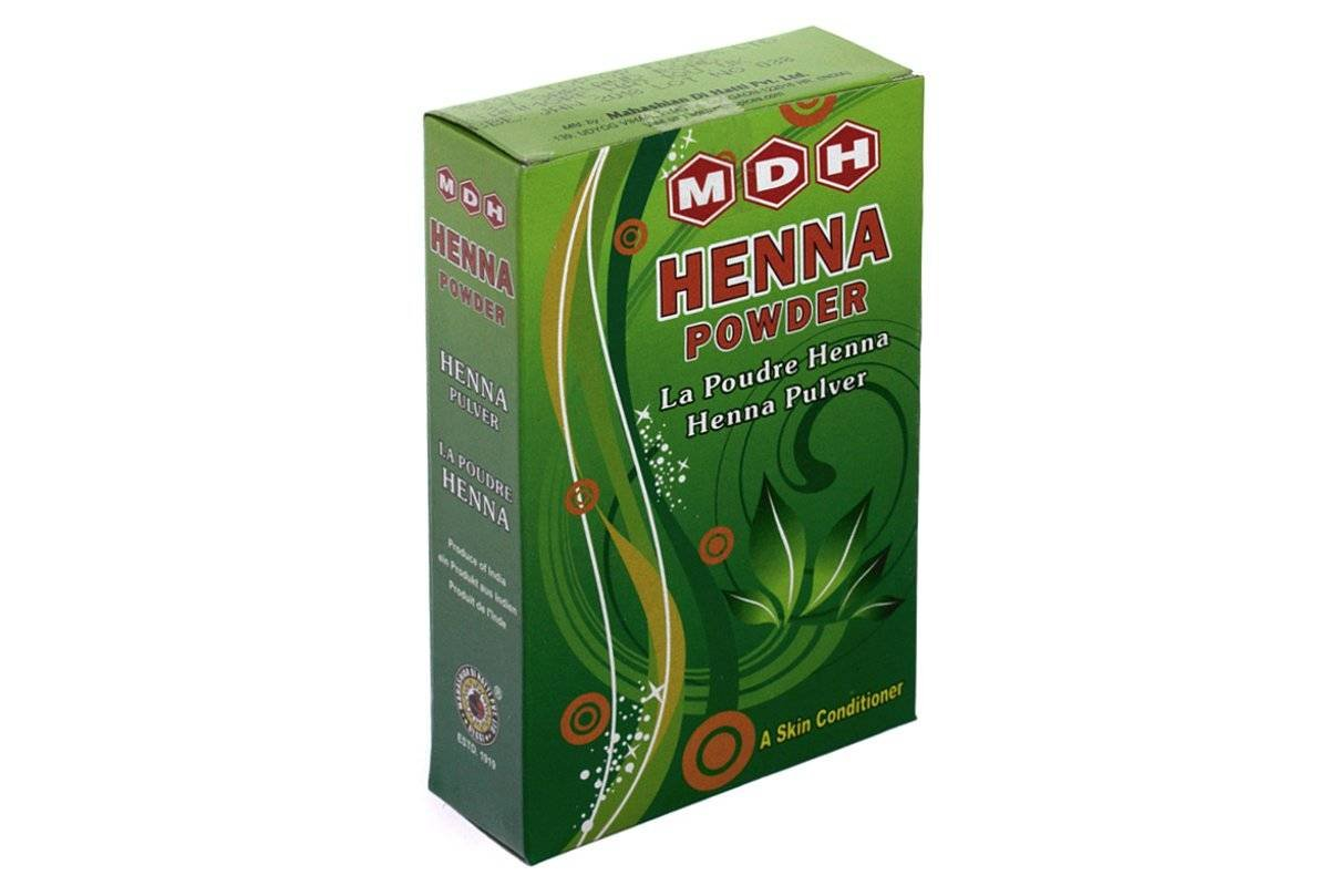 MDH - Henné Color - Henna Powder Treatment - Pure Lawsonia inermis - 500 gr