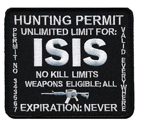 Terrorist Hunting Permit Morale Military product image