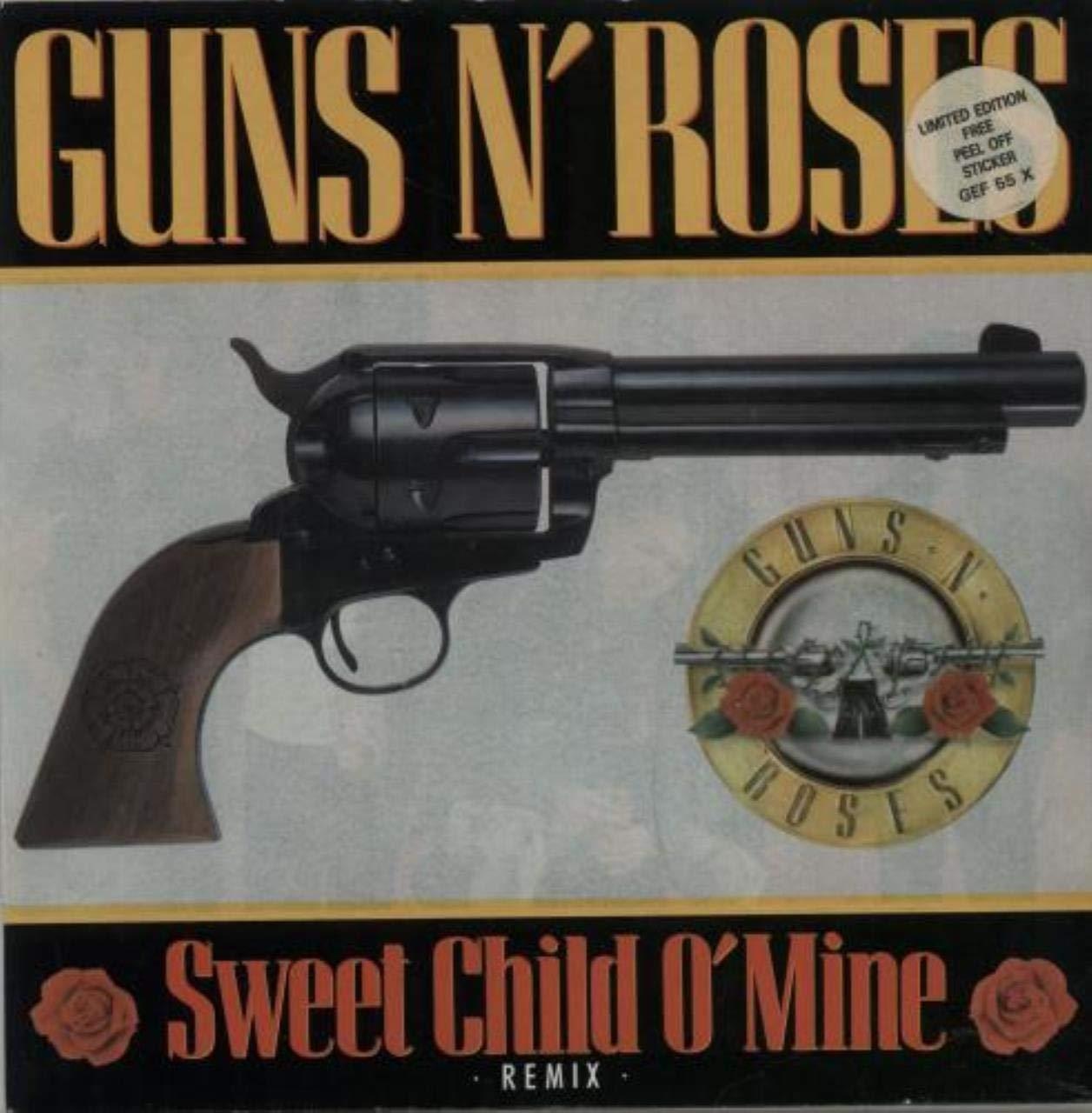 Sweet Child O Mine - Sticker Pack: Guns N Roses: Amazon.es: Música