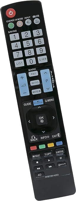 ALLIMITY AKB72914293 Reemplace el Control Remoto por LG Plasma TV AKB72915207 AKB72915244 AKB72914202 AKB72915246 AKB73275606 AKB72915217: Amazon.es: Electrónica