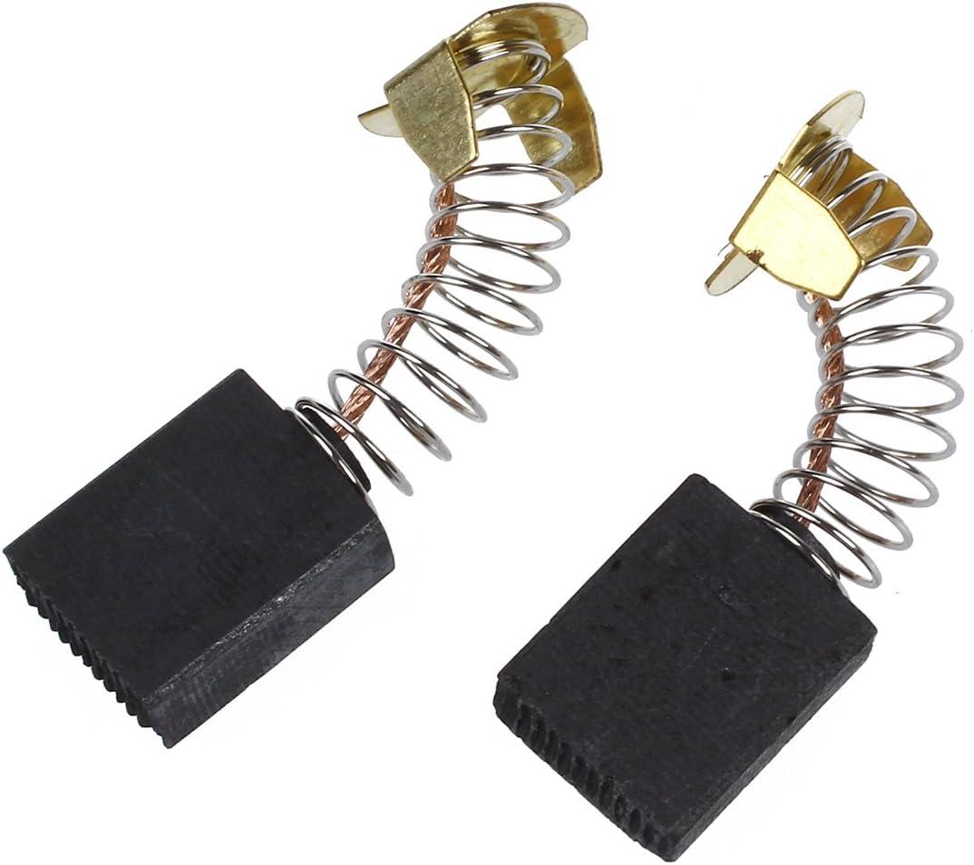 YRW 2 x Balai de charbon du moteur electrique 6.5mm x 13.5 mm x 18 mm