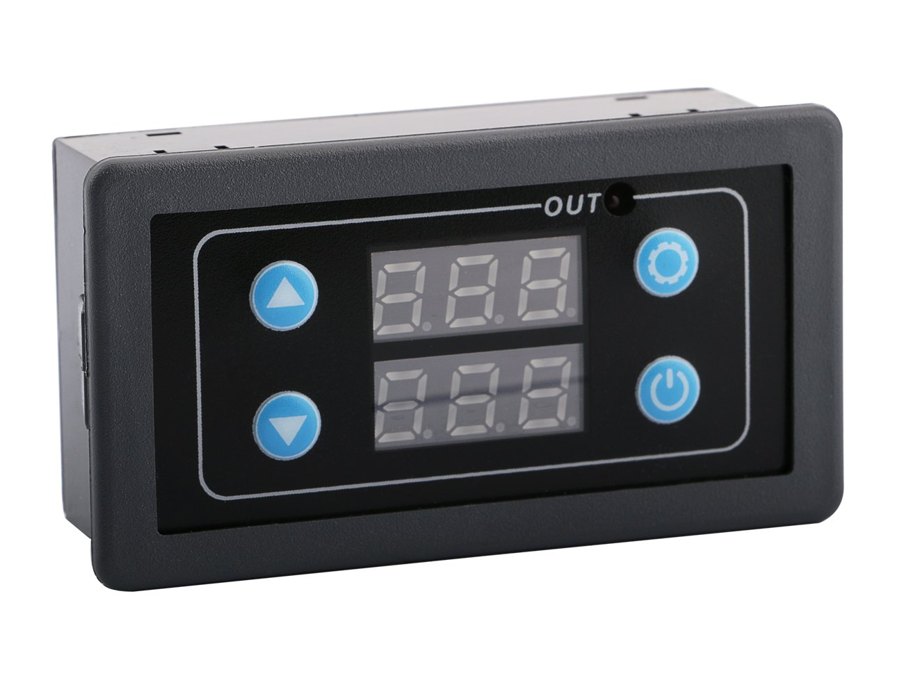 Digital Cycle Delay Timer, Yeeco DC 24V Digital LED Timer Relay Board, 10A 2000W Delay Module with Dual Time Display, Timing Relay Switch, 0-999S/M/H Wide Range Automotive Relay Switch