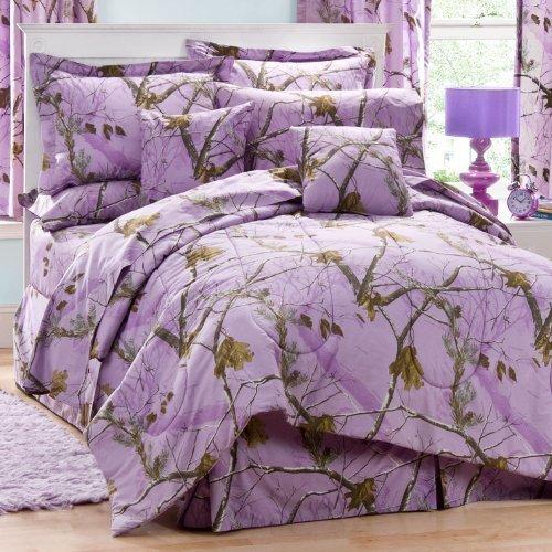 - Kimlor Mills Realtree APC Comforter Set, Twin, Lavender