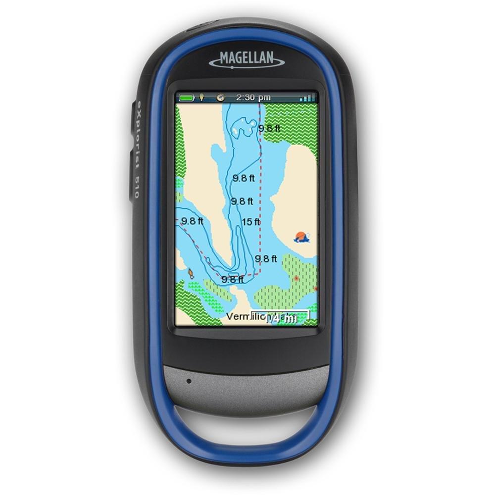 Magellan TX0510SG9NA GPS EXplorist 510 Pro Angler FHS3L SD B0093NR25G
