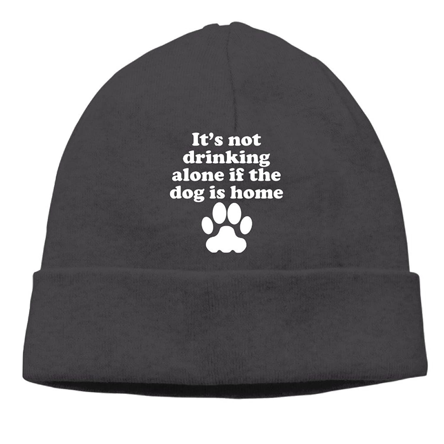 T's Not Really Drinking Alone Funny Saying Beanies Cap