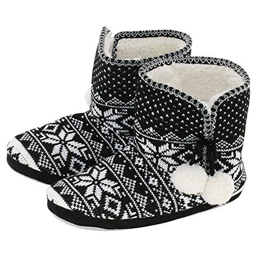 brandsseller Women's brandsseller Women's Slippers brandsseller Women's Black Black Women's Black Slippers Slippers brandsseller pwSFqrp