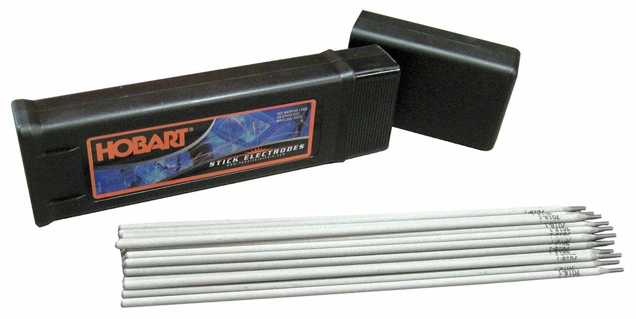 Stick Electrode, 6010, 1/8, 5lb HOBART