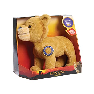 Disney Lion King Live Action Animated Roaring Simba: Toys & Games