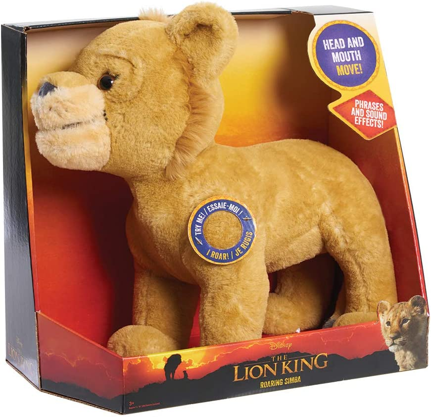 Disney Lion King Live Action Animated Roaring Simba