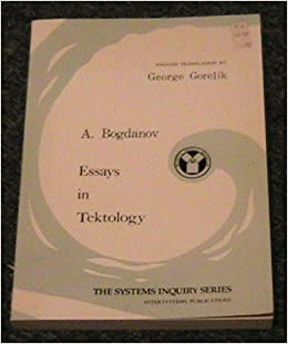 essays in tektology