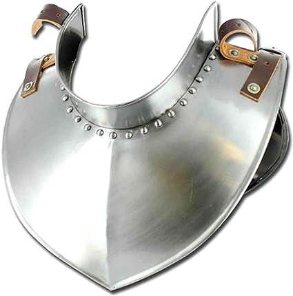 Medieval Templar Standing Collar Gorget  Armor COLLECTIBLE GIFT