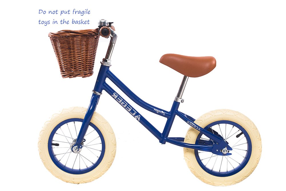 ACEGER No Pedal Control Balance Bicycle For kids With Basket Age 2-5 Non-toxic