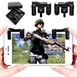 #7: Erencook Mobile Game Controller Latest Generation - IOS Android Shoot Aim Trigger Botton L1R1 Keys for PUBG/Fortnite/Rules of Survival Assistant - 1 Pair