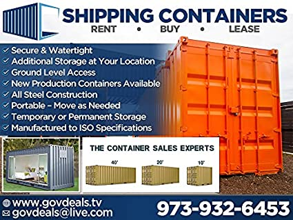 Shipping Container Conex Sea Container USED Wind and Water Tight