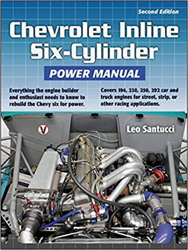 Chevrolet Inline Six-Cylinder Power Manual: Amazon.es: Leo Santucci: Libros en idiomas extranjeros