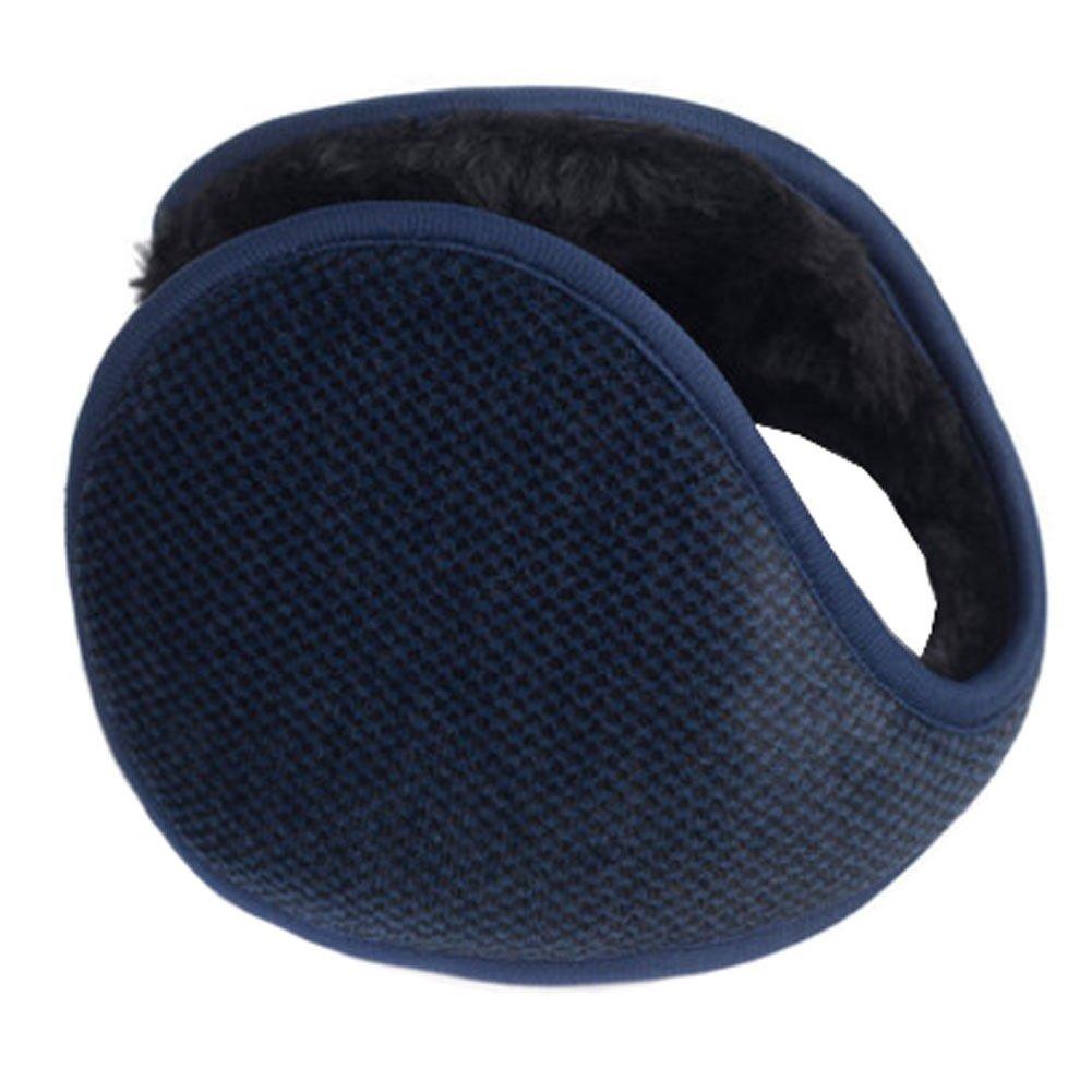 Unisex Comfortable Soft Earmuff Earmuffs Ear Warmers Winter Accessory, A KE-CLO2474962011-JASMINE05285