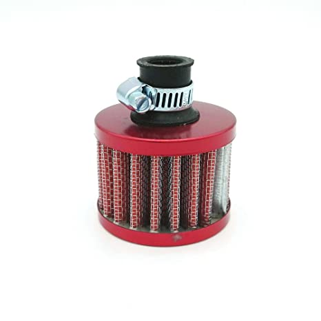 MOTOR 12mm MINI OIL AIR INTAKE CRANKCASE VENT COVER BREATHER FILTER
