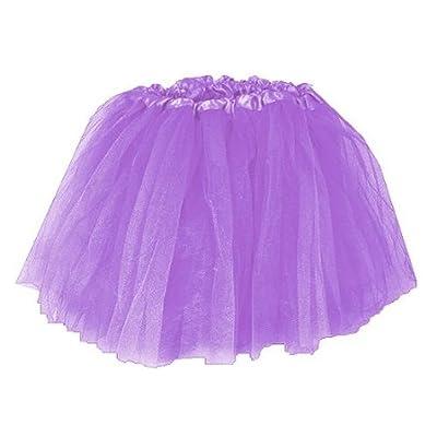 Girls Ballet Tutu Lavender: Toys & Games