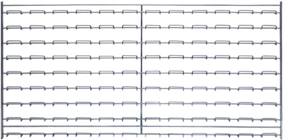 Quantum WLP-1836C Wire Louvered Panel, 36'' Width x 18'' Height by Quantum