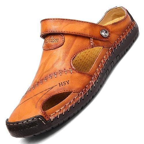 Herren Sandalen herren hausschuhe fashion Echtes Leder