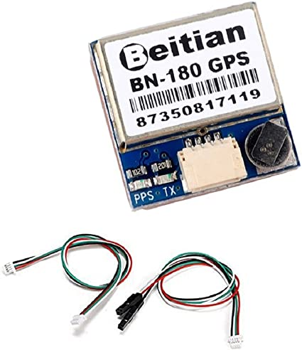 BN-180 GPS Battery Strap Mount Back Wire Routing Lipo RDQ Micro M8N Glonass FPV