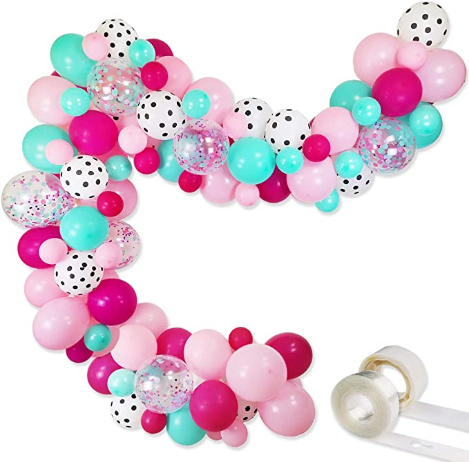 6th Birthday Party Supplies 8 Guest Decoration Kit and Ballo... L.O.L Surprise