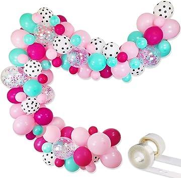 Amazon.com: Kit de guirnalda de globos para decoración de ...