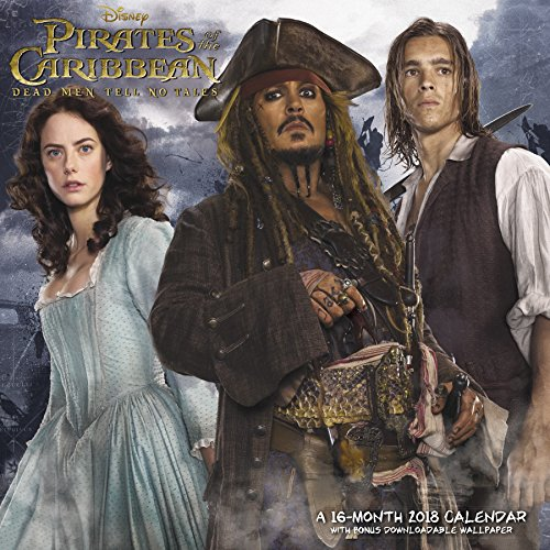 2018 Pirates of the Caribbean: Dead Men Tell No Tales Wall Calendar (Day Dream) by Day Dream