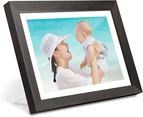AEEZO Digital Picture Frame WiFi 10.1 Inch IPS Touch Screen HD Display